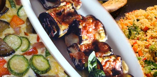 Menù Catering Vegetariano